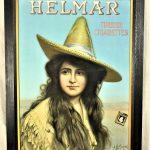 Rare Helmar Cigar Advertising