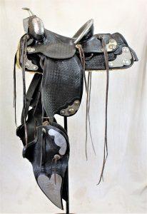 Walla Walla Prison Silver Saddle