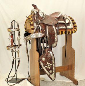 Gibson/Bohlin Silver Parade Saddle