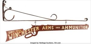 Winchester Hardware Store Advertising Sign