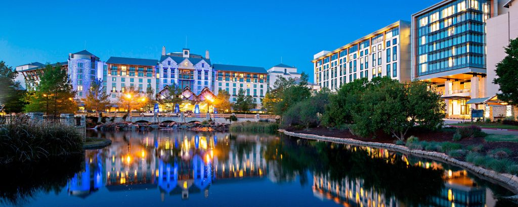 Gaylord Texan Resort Landscape